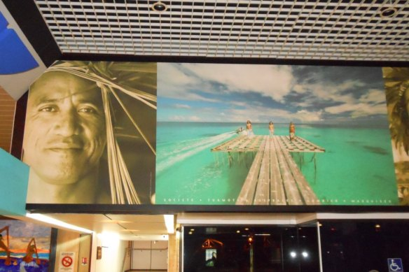 patrick at tahiti airport