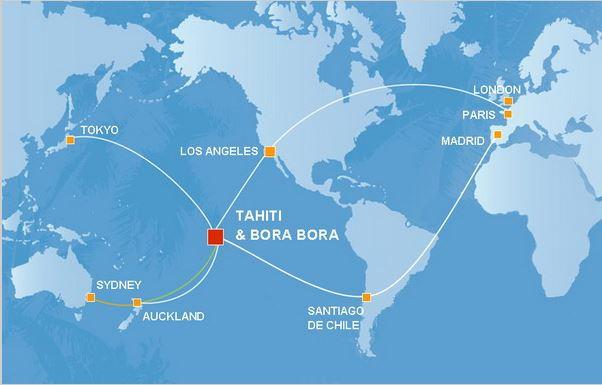 Resultado de imagen de donde se encuentra bora bora island mapa